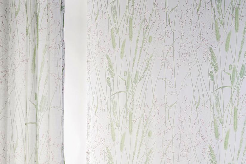 Flamsäker textil: GRAMINA