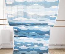 Flamsäker textil: OCEAN