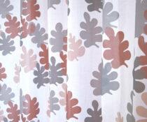 Flamsäker textil: HAPPY LEAVES