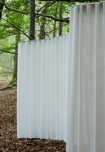 tyg av återvunnen polyester